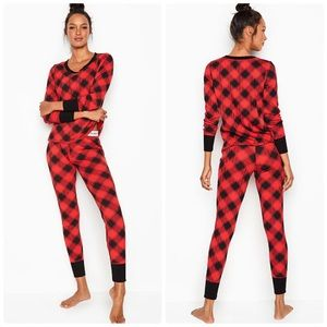 Victoria's Secret Thermal PJ Set